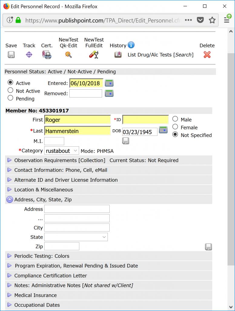 DrugTestNetwork | Drug Test Data Management Cloud Solution
